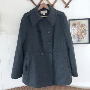Michael Kors • Charcoal Wool Peacoat